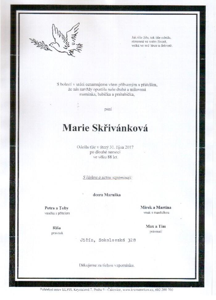 Marie Skřivánková