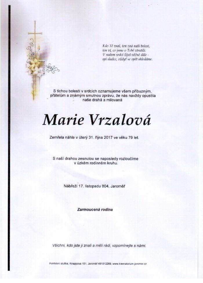 Marie Vrzalová