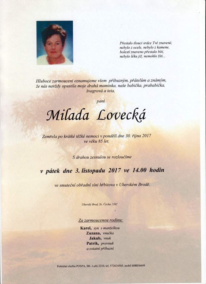 Milada Lovecká