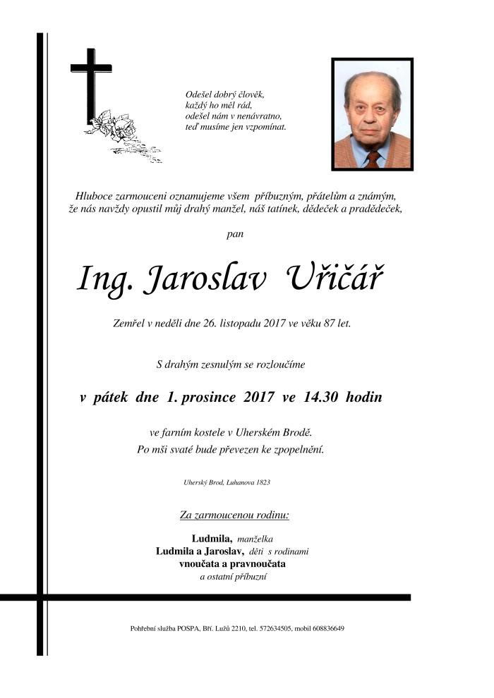 Ing. Jaroslav Uřičář