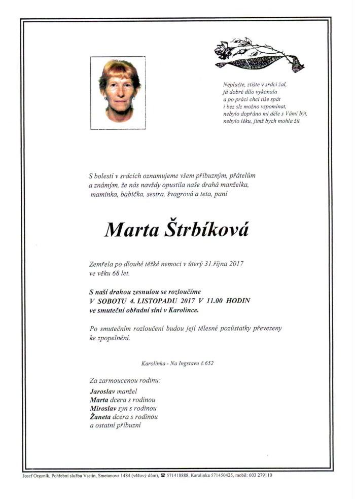 Marta Štrbíková