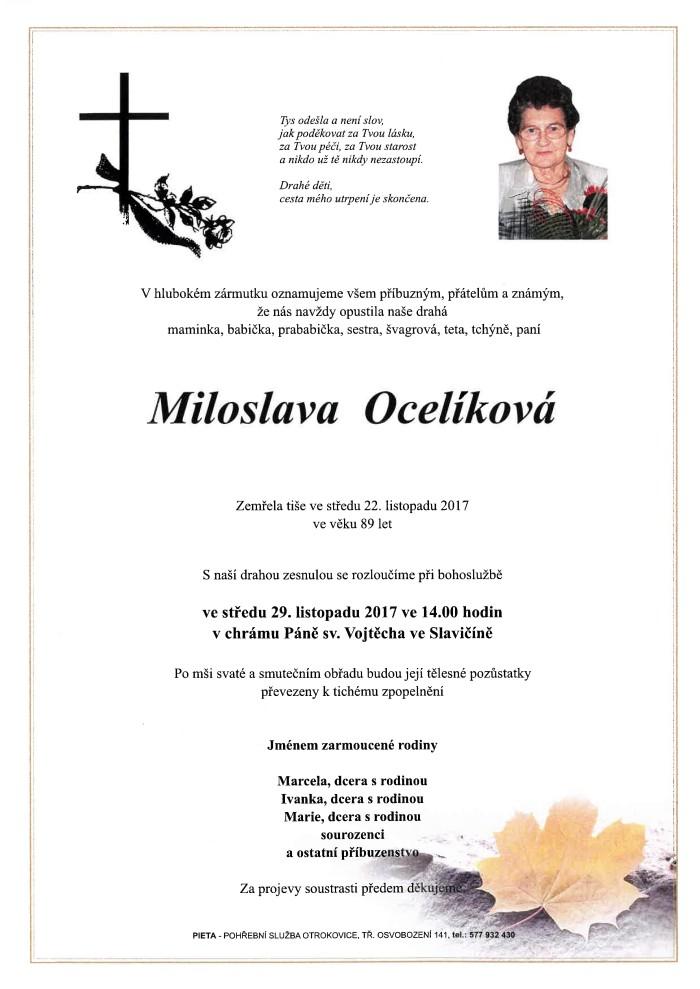 Miloslava Ocelíková