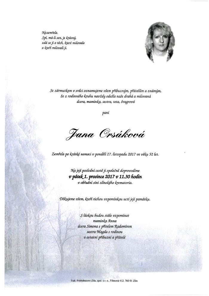 Jana Orsáková
