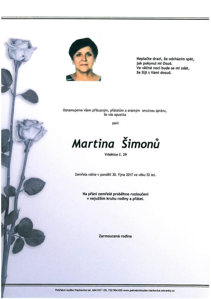 Martina Šimonů