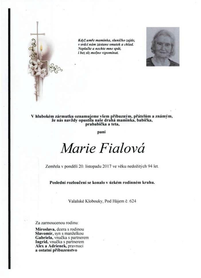 Marie Fialová