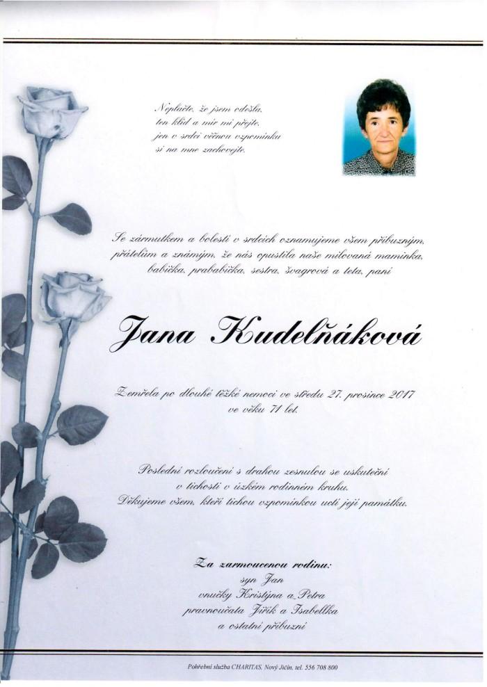 Jana Kudelňáková