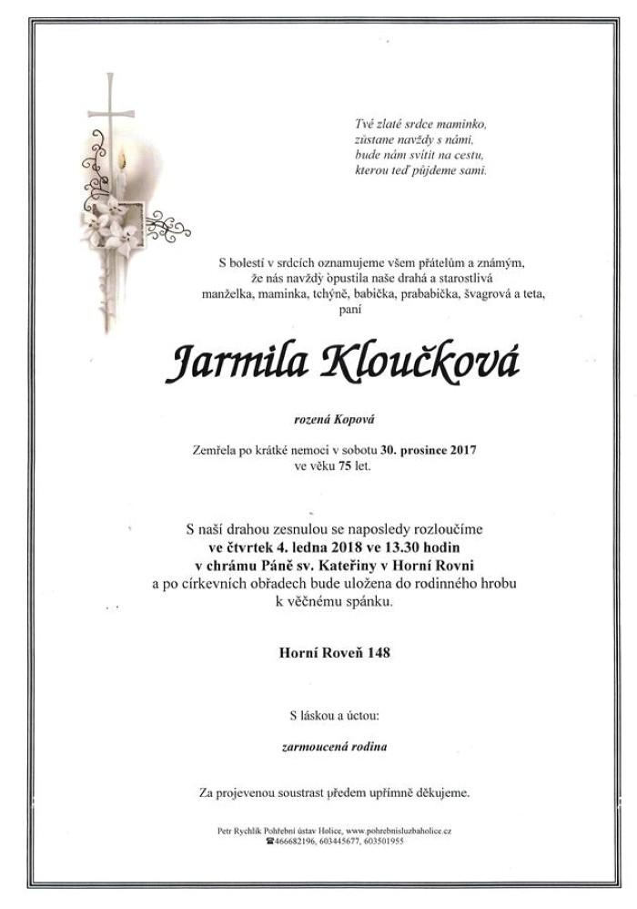 Jarmila Kloučková
