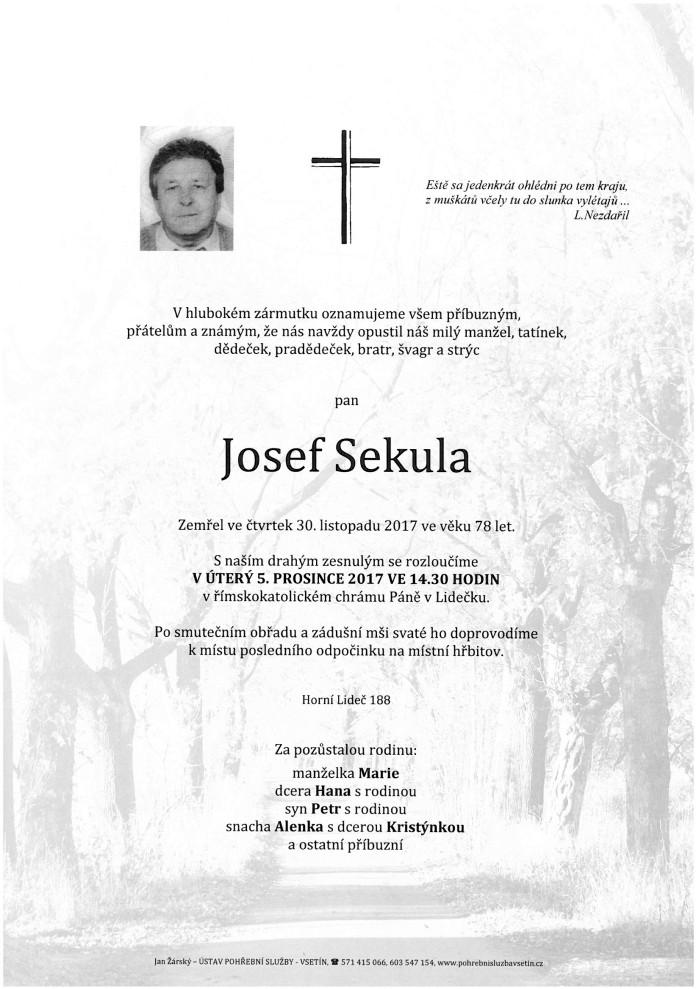 Josef Sekula