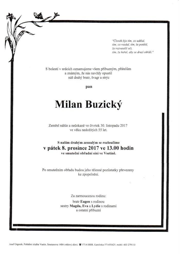 Milan Buzický