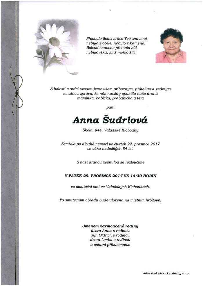 Anna Šudrlová