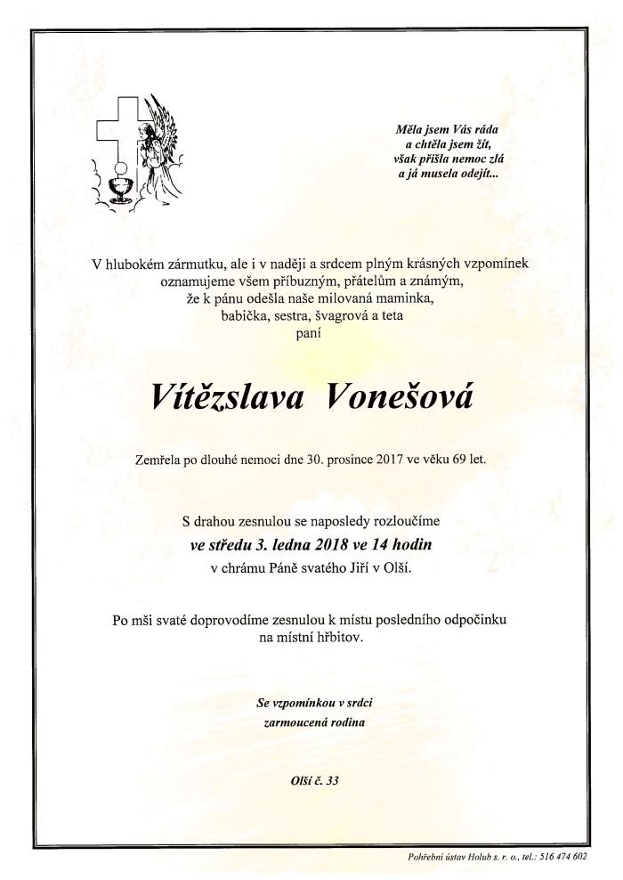 Vítězslava Vonešová