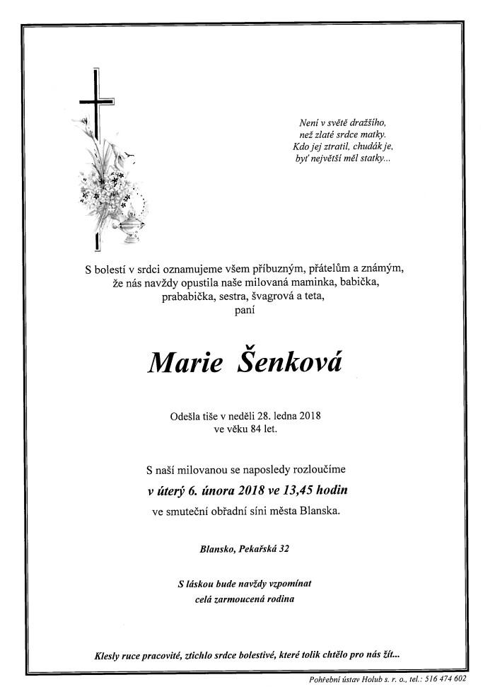 Marie Šenková