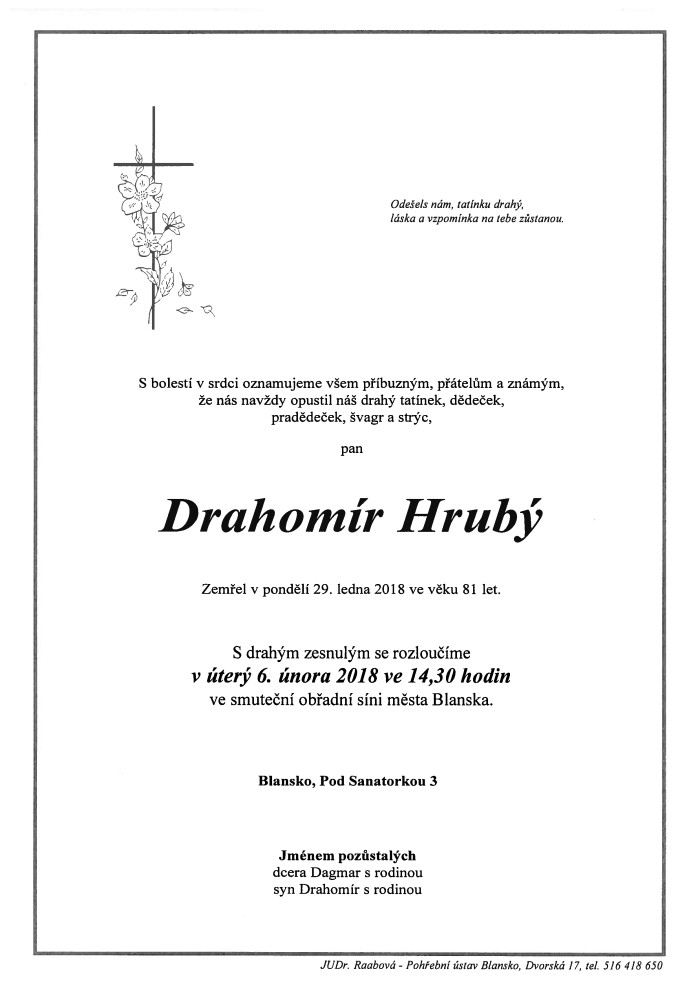 Drahomír Hrubý