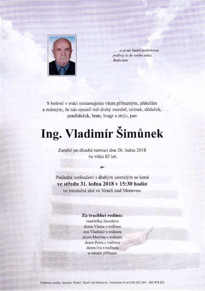 Ing. Vladimír Šimůnek