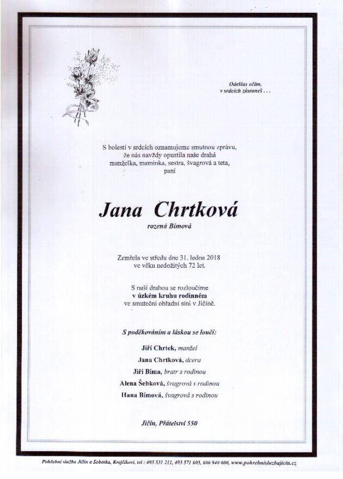 Jana Chrtková