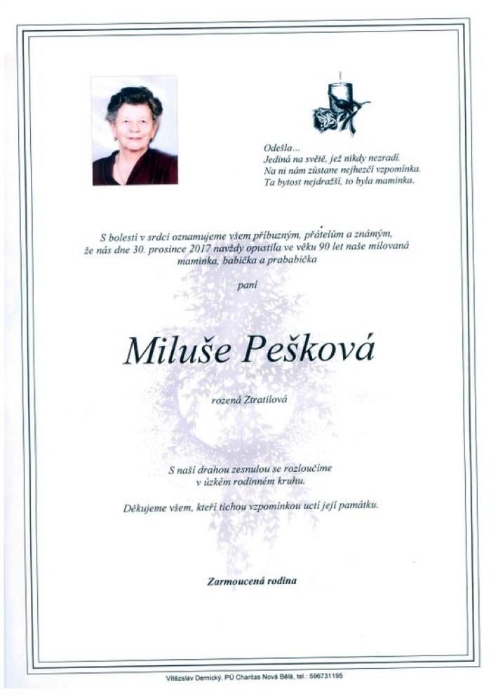 Miluše Pešková