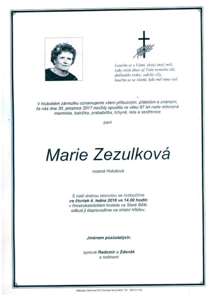 Marie Zezulková