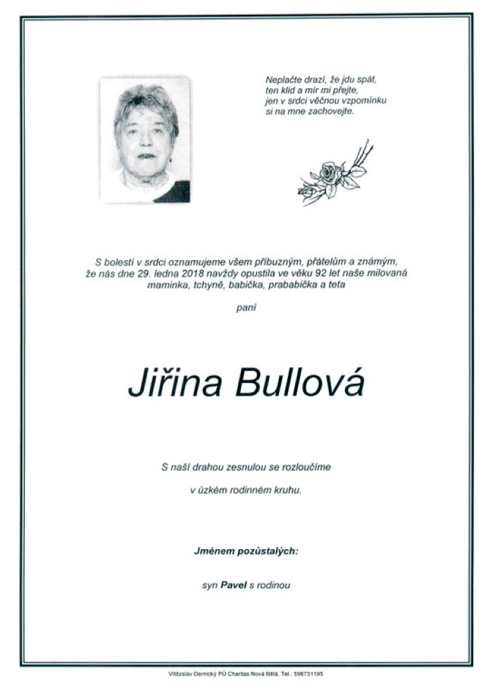 Jiřina Bullová
