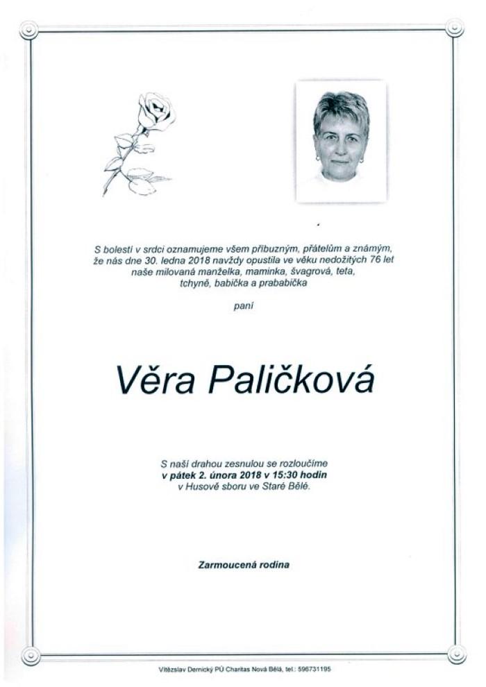 Věra Paličková