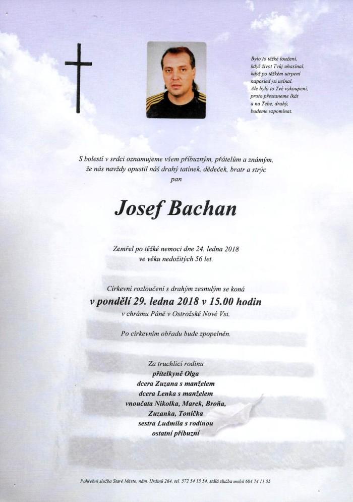 Josef Bachan