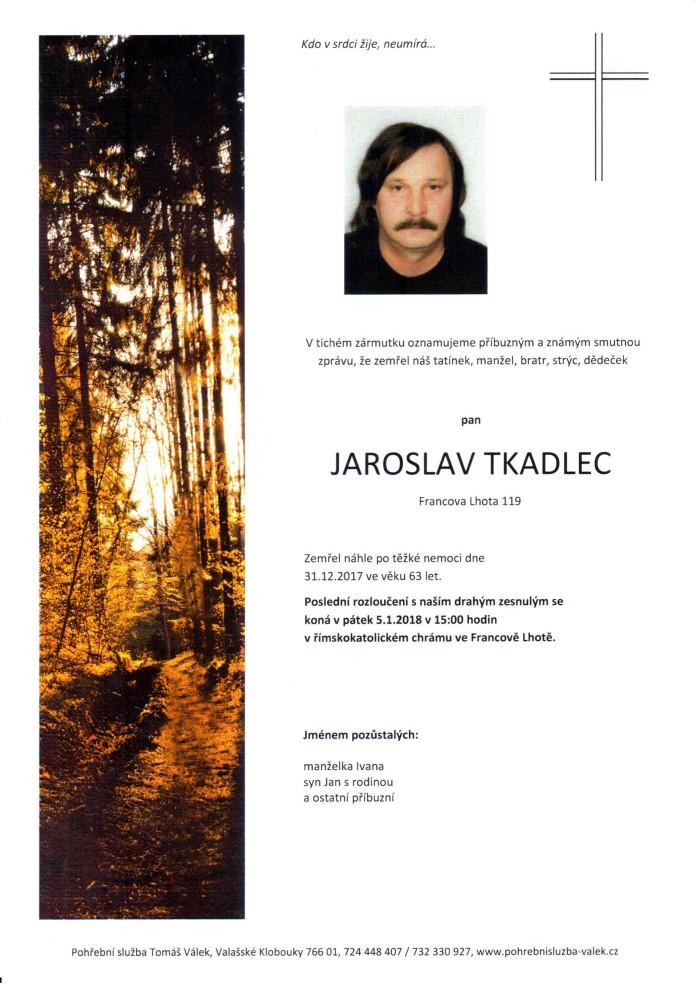 Jaroslav Tkadlec