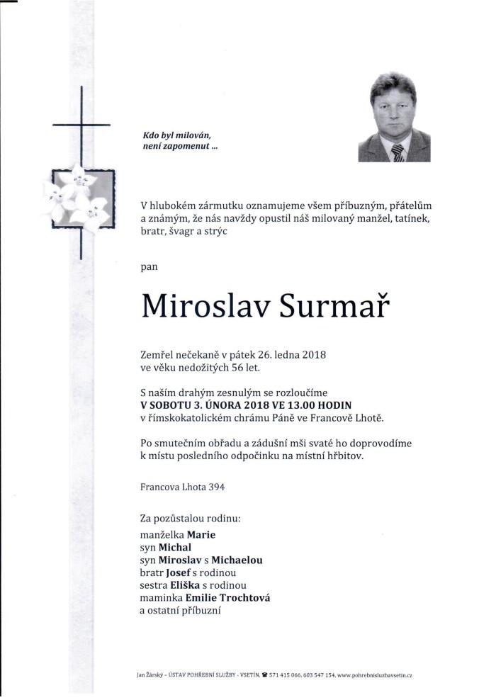 Miroslav Surmař