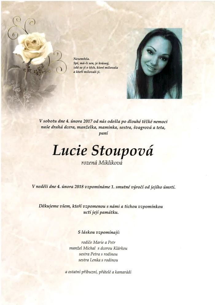 Lucie Stoupová