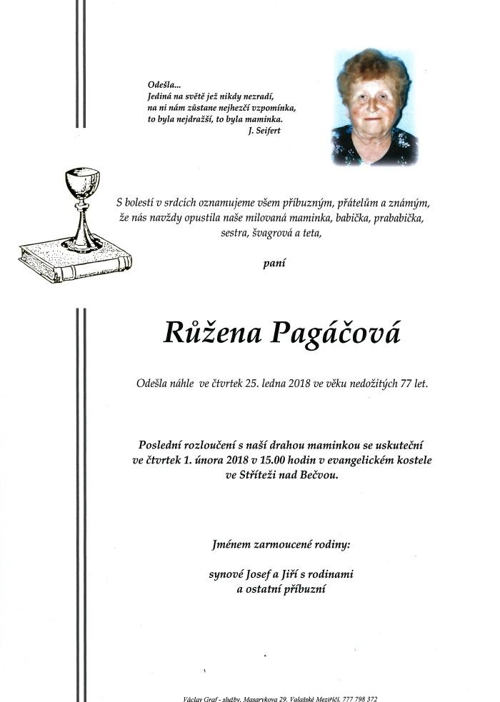 Růžena Pagáčová