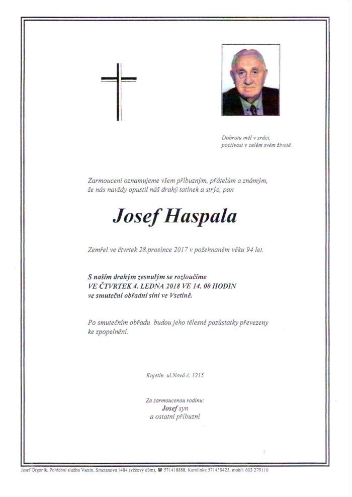 Josef Haspala