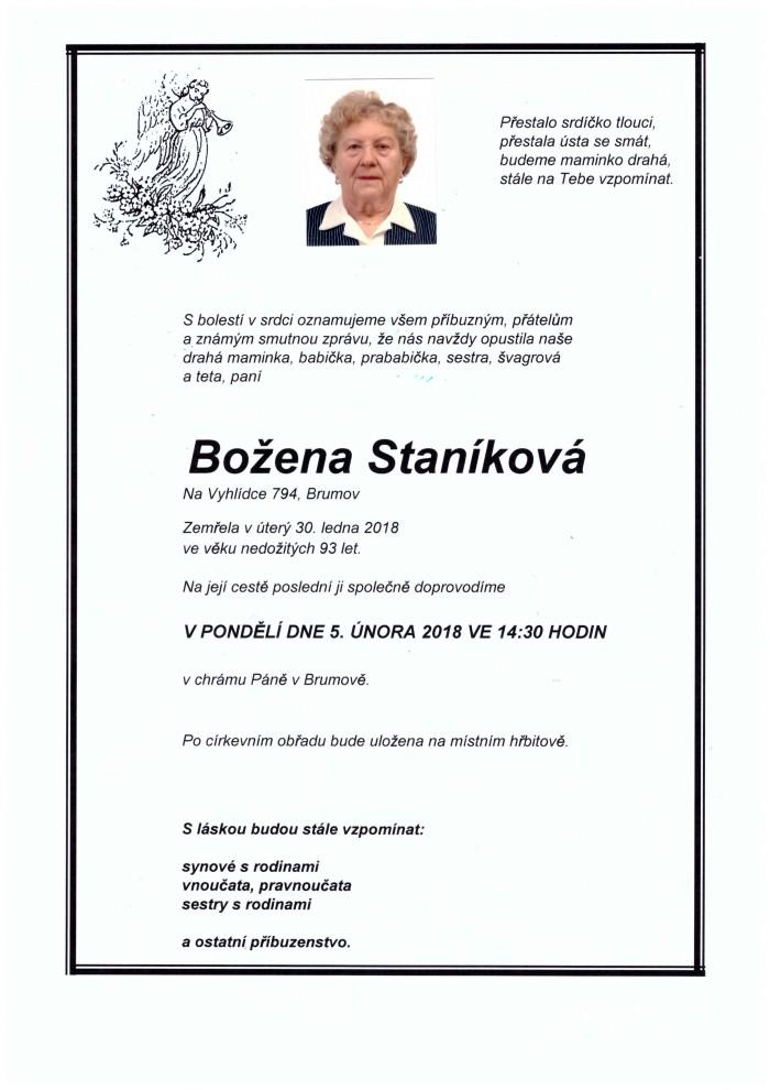 Božena Staníková