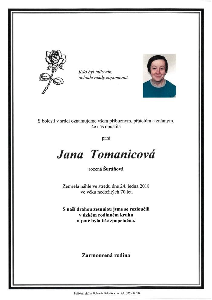 Jana Tomanicová