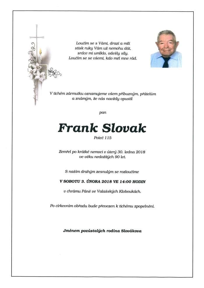 Frank Slovak