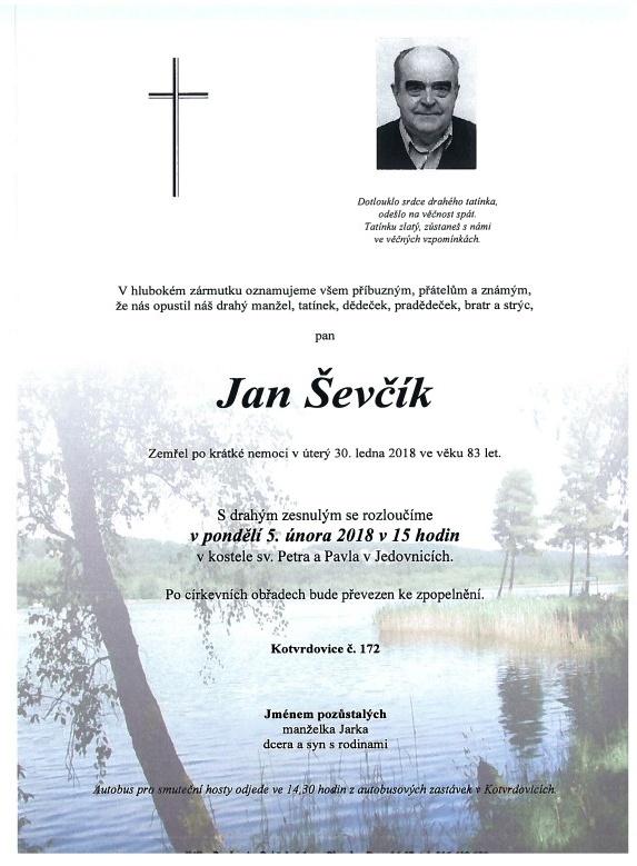 Jan Ševčík