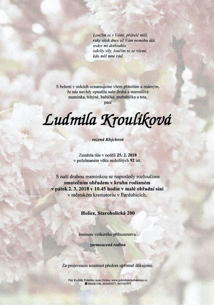Ludmila Kroulíková