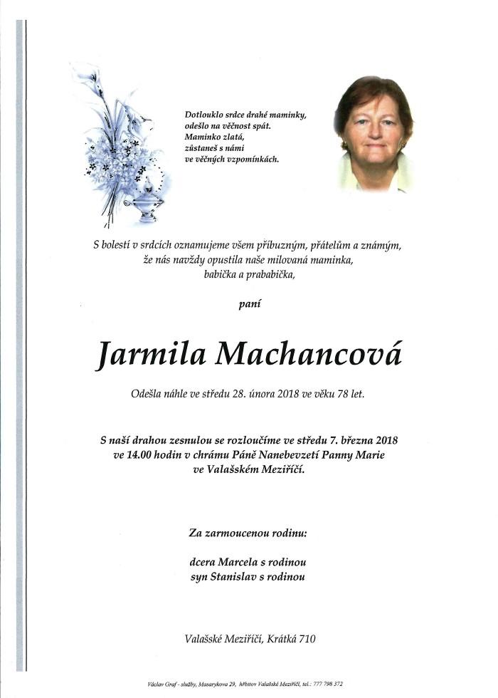 Jarmila Machancová