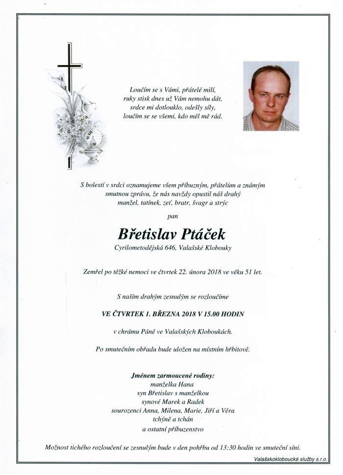 Břetislav Ptáček