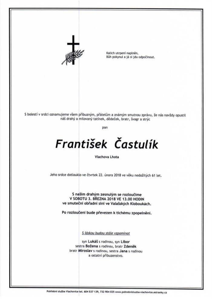 František Častulík