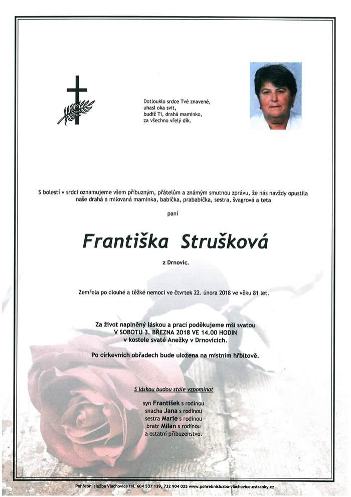 Františka Strušková