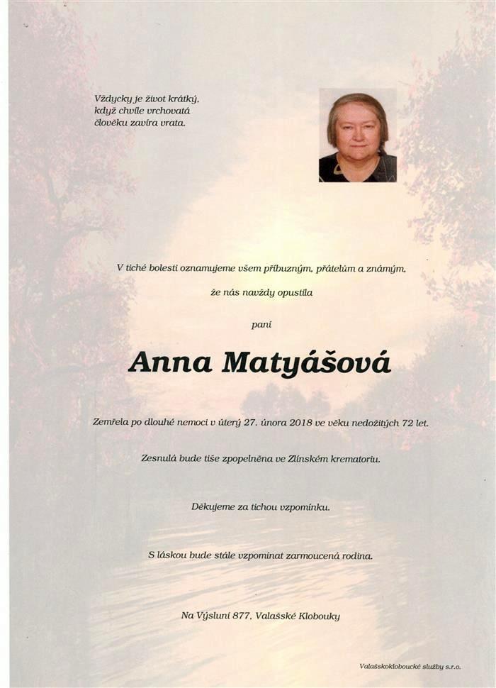 Anna Matyášová