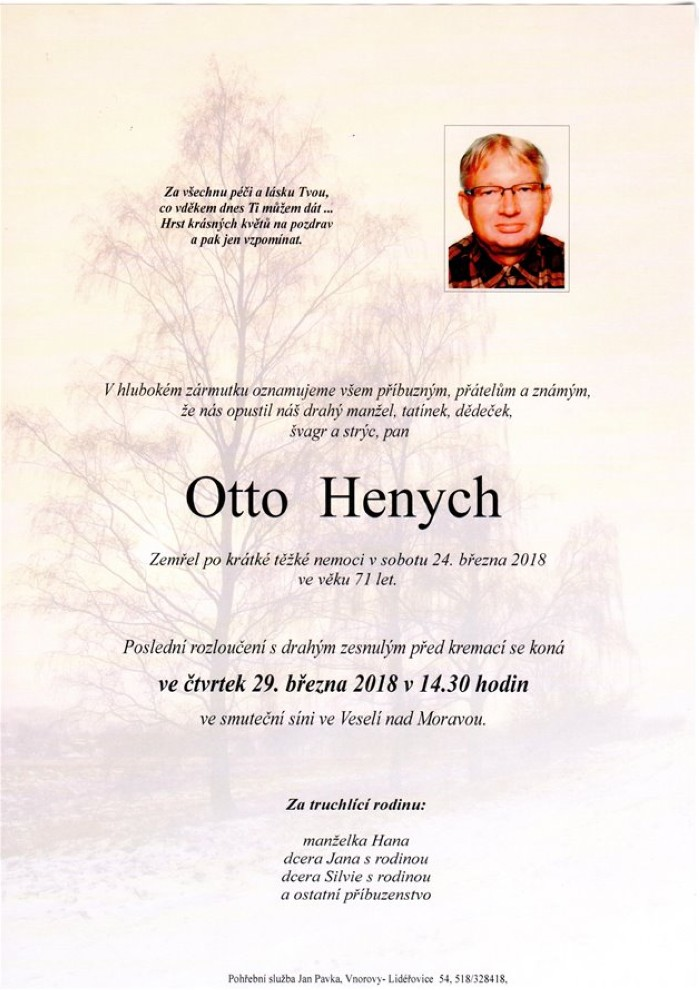 Otto Henych