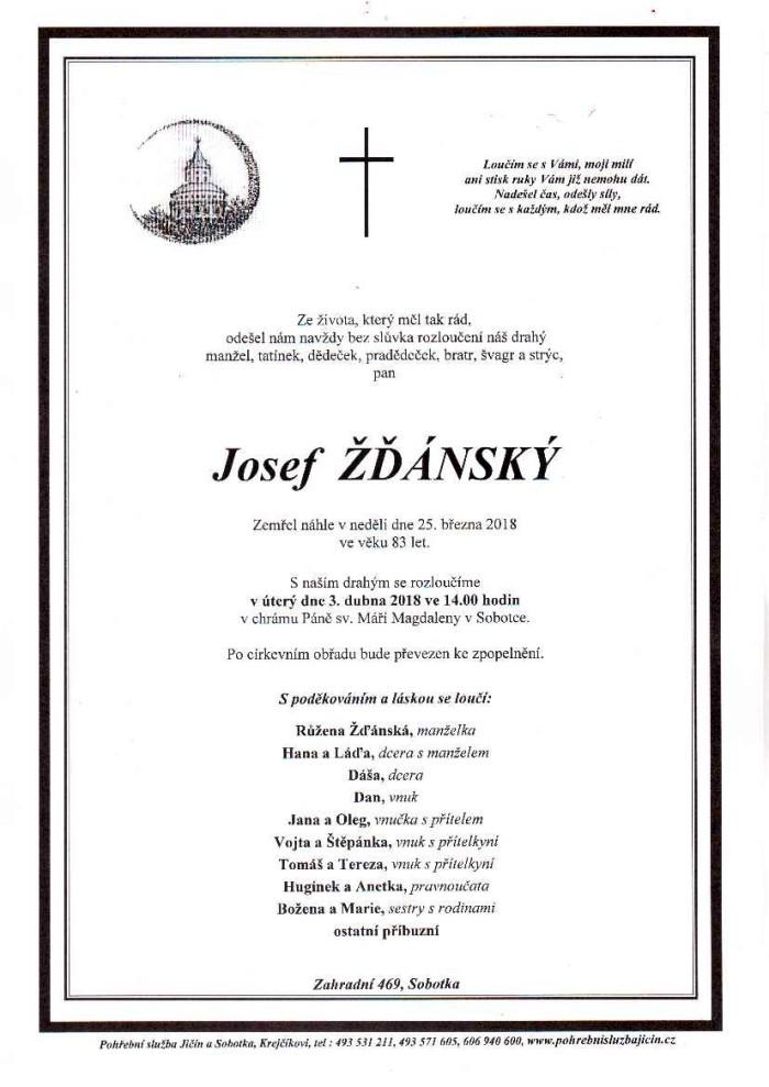 Josef Žďánský