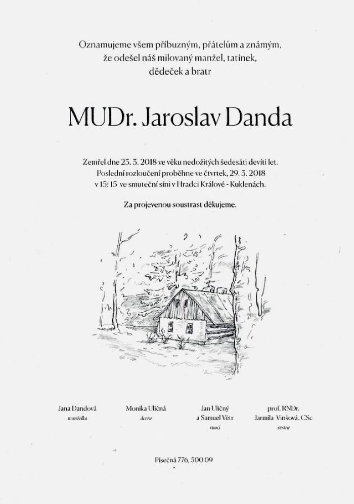 MUDr. Jaroslav Danda