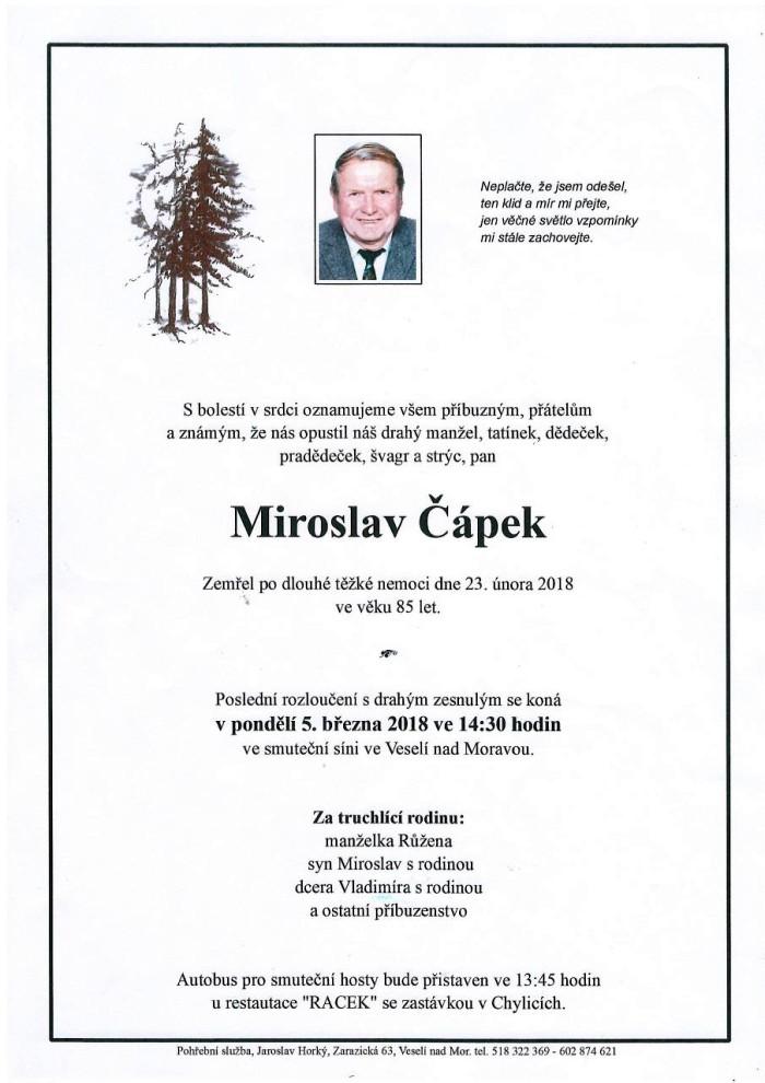 Miroslav Čápek