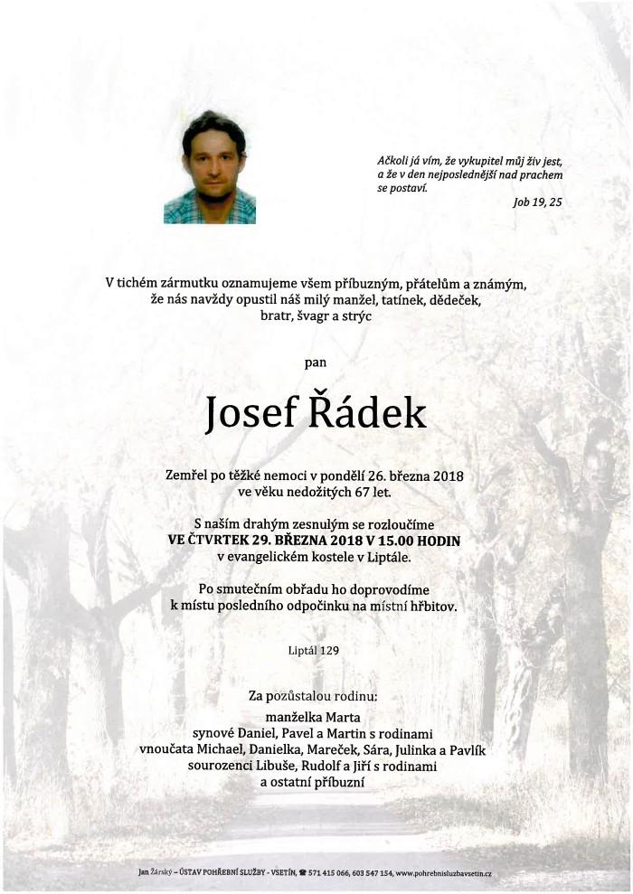 Josef Řádek