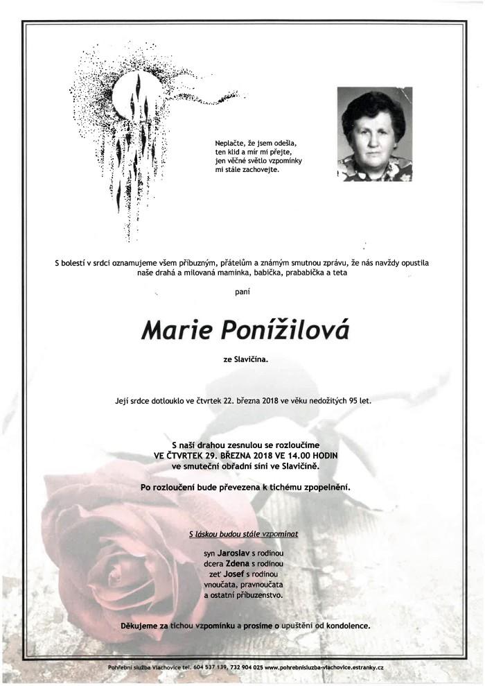 Marie Ponížilová