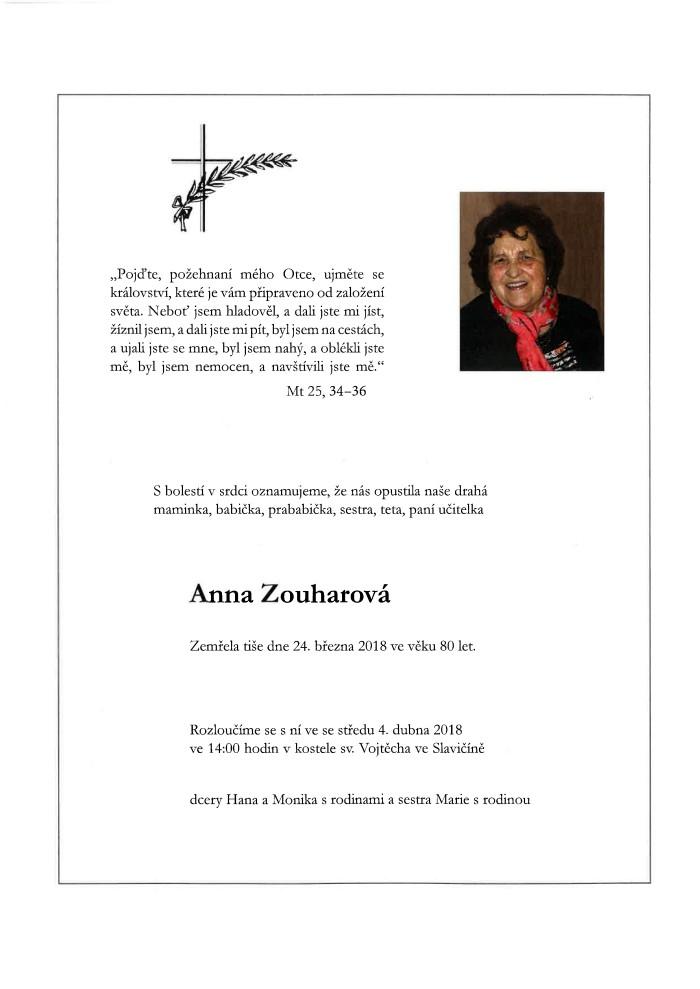 Anna Zouharová