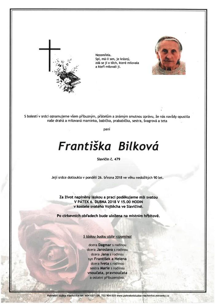 Františka Bilková