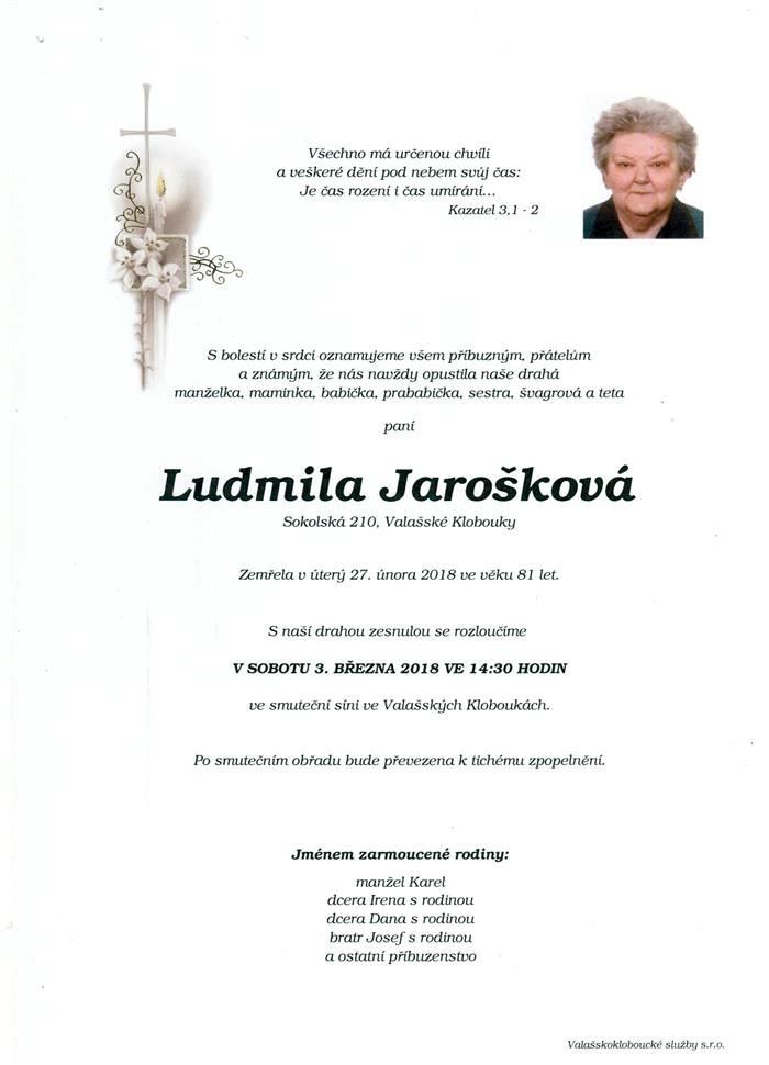 Ludmila Jarošková