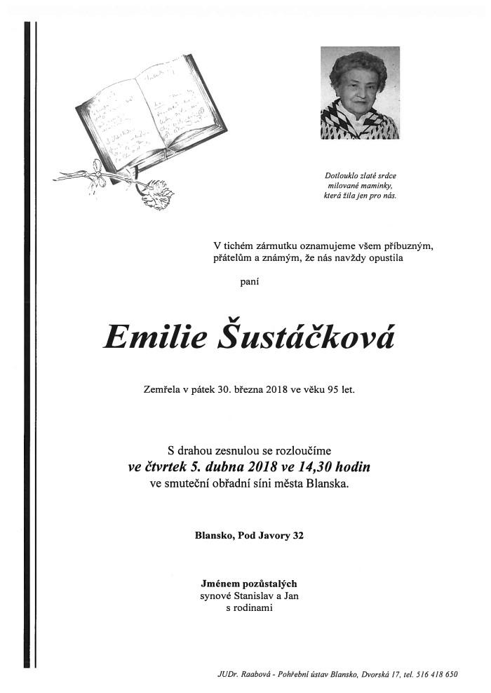 Emilie Šustáčková