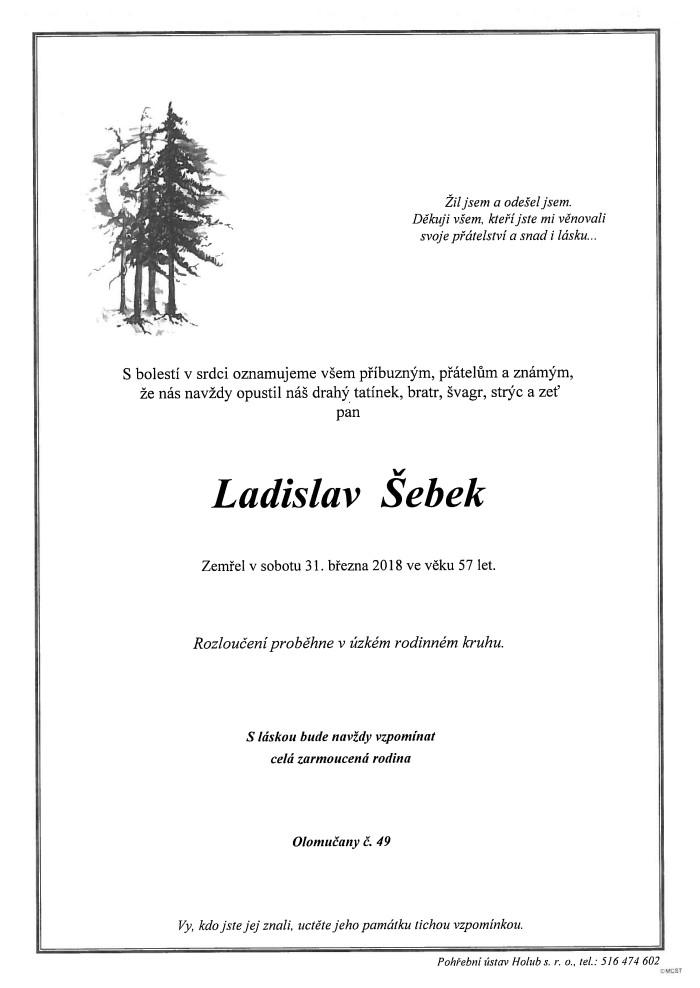 Ladislav Šebek